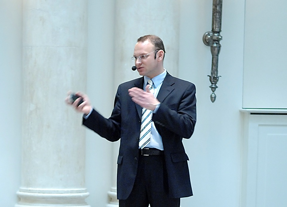 Bissantz Executive Forum Berlin 2007 - Referent: Axel Köhnken während seines Vortrags