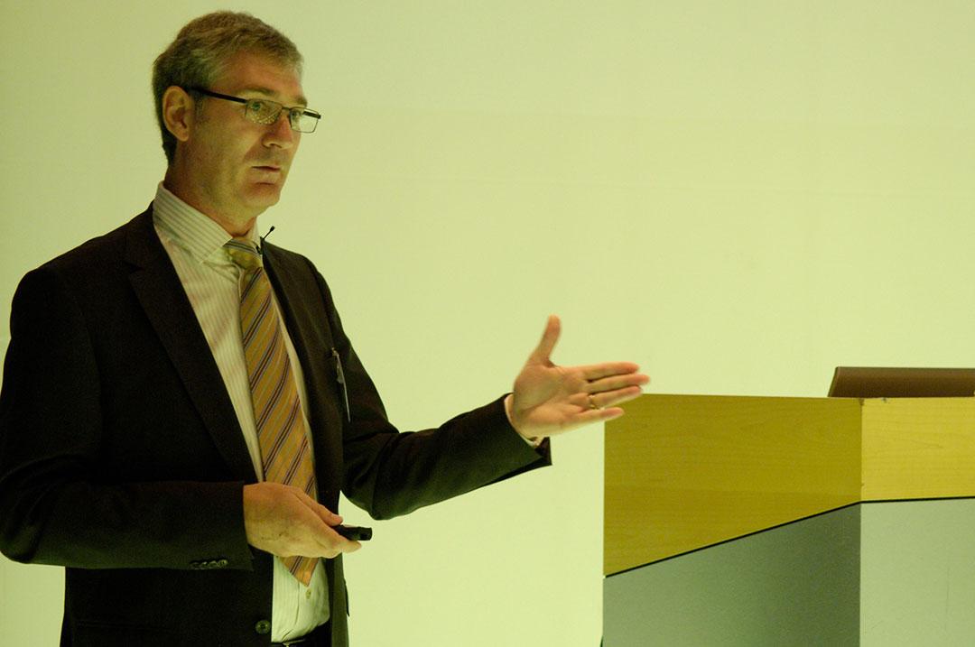Bissantz Executive Forum Berlin 2009 - Referent: Harald Walter-Arndt während seines Vortrags