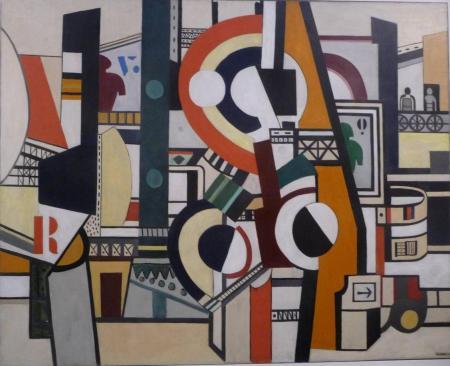 Fernand Léger, Les disques dans la ville (1920)