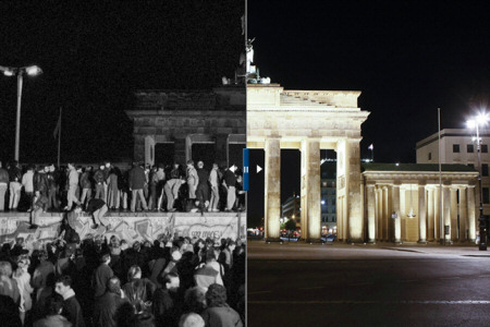The Berlin Wall Through Time. - Source: http://www.nytimes.com/interactive/2009/11/09/world/europe/20091109-berlinwallthennow.html.