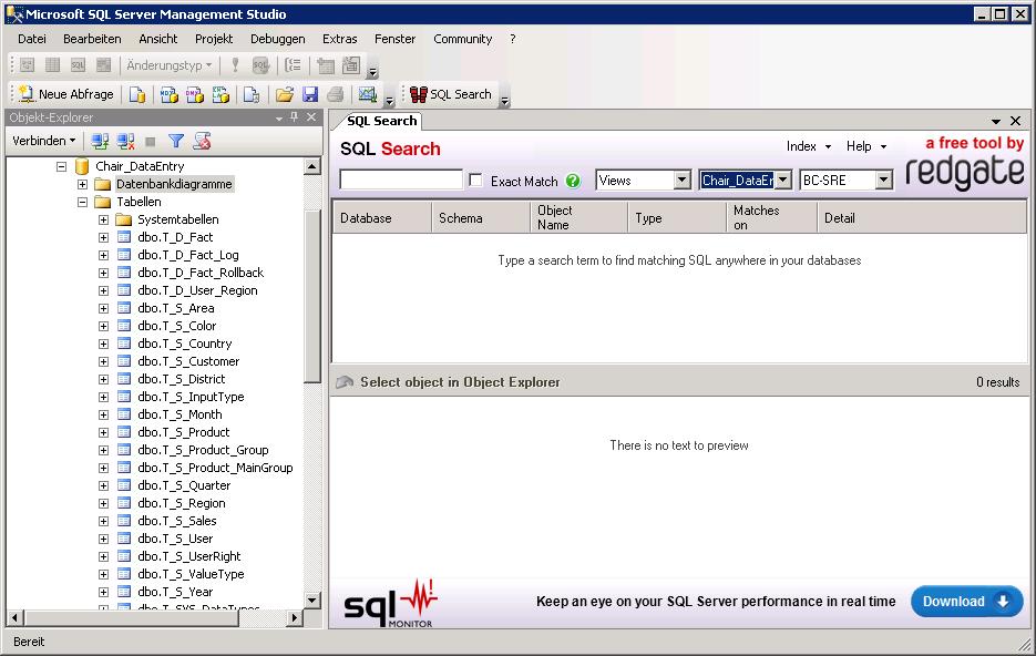 SQL Search