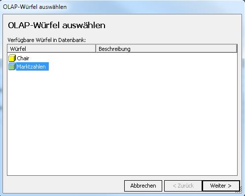 OLAP-Wuerfel