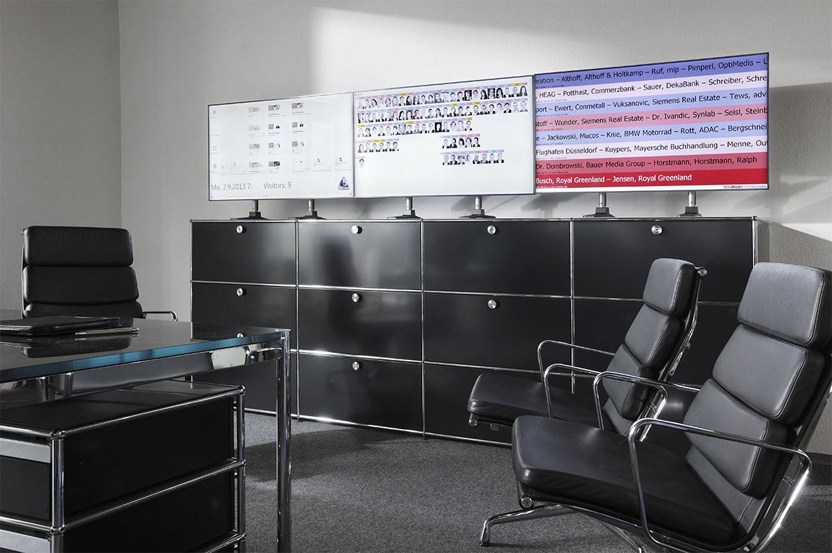 DeltaGate: Hardware-Software-Lösung für Echtzeitcontrolling (3x1 Bildschirme)