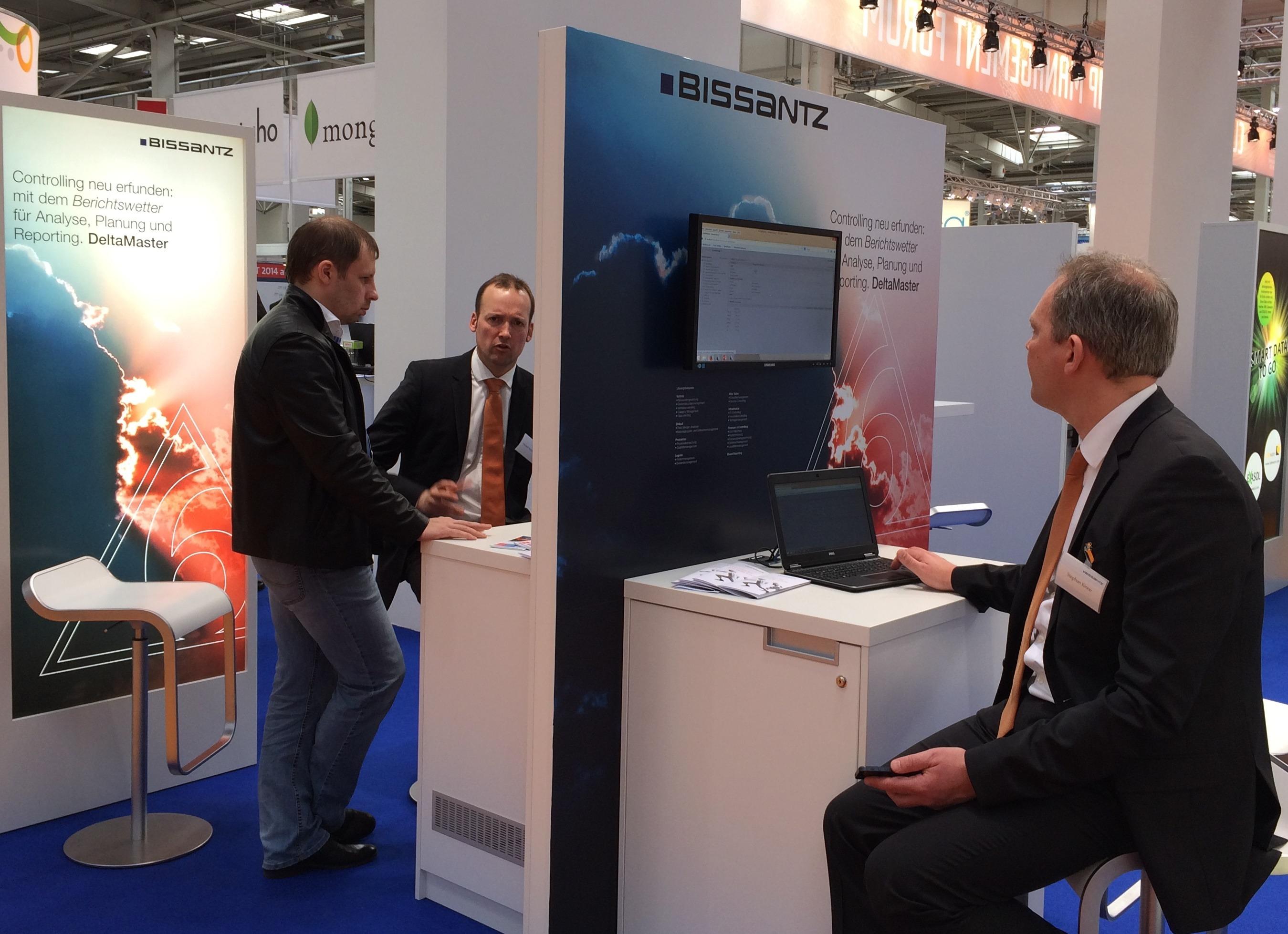 Cebit Hannover 2014: Bissantz stellt die neue Generation von BI-Software DeltaMaster 6 an ihrem Messestand vor