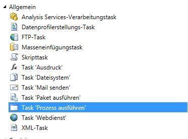 """Task """"Prozess ausführen"""""""