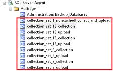 Abbildung 9 Aufträge der Systemdatensammler