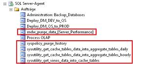 Abbildung 5 Automatische SQL-Agent Aufträge