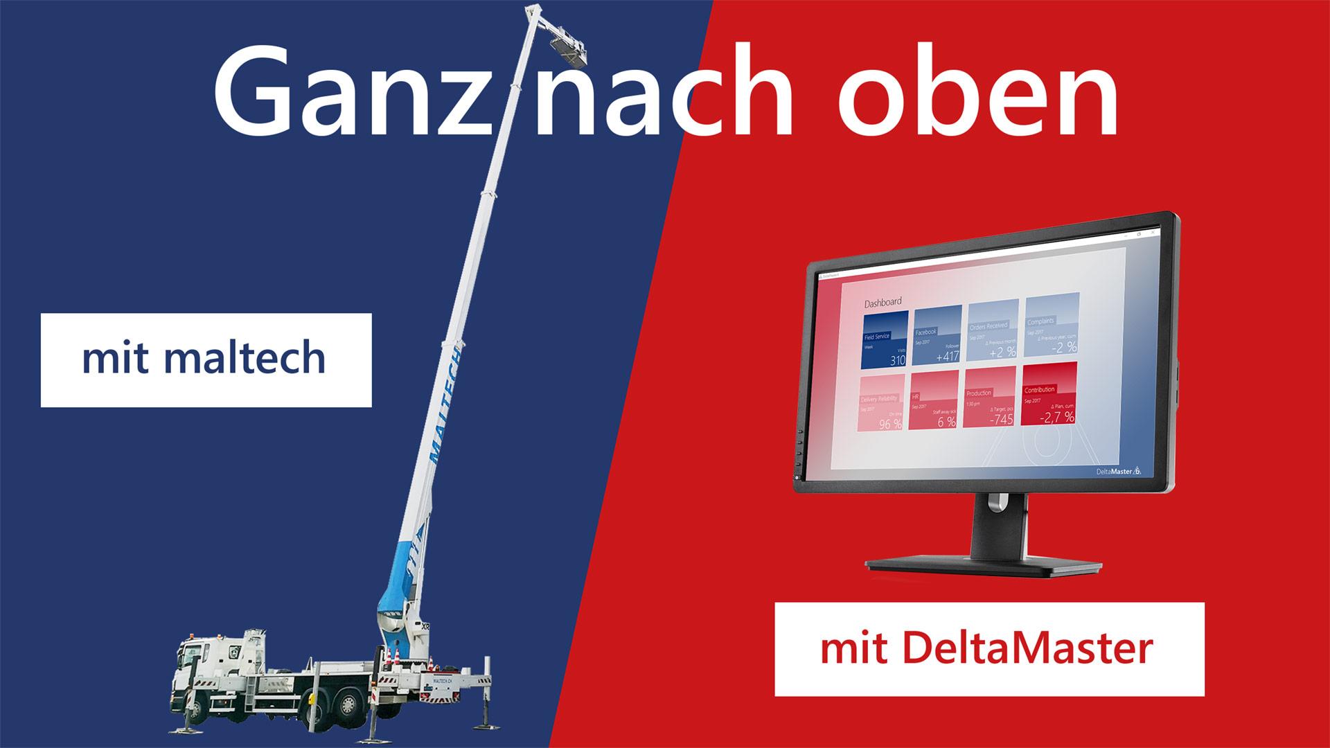DeltaMaster-Matinee in Zürich mit Praxisvortrag von Maltech AG am 19.09.2019