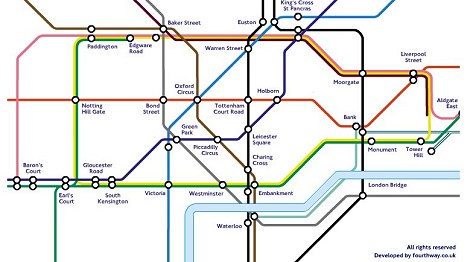 LondonTubeMapAbstract
