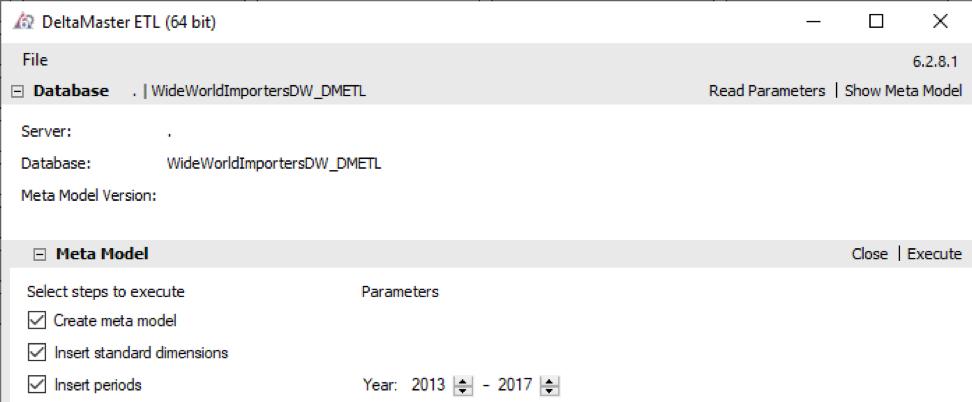 2020-01-31_crew_Einstellung DeltaMaster ETL für das Erstellen des Meta-Modells