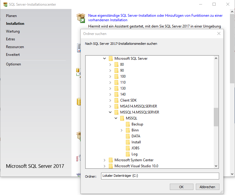 2020_09_11_crew_SQL_Server_Installationscenter