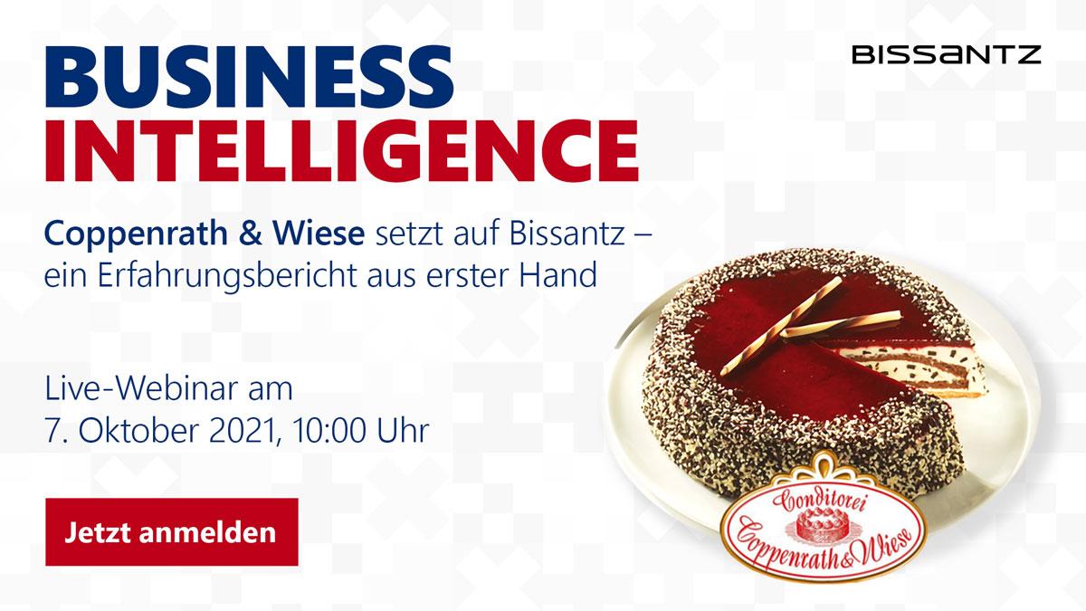 Business Intelligence mit Bissantz - Live-Webinar mit Coppenrath & Wiese am 7. Okaotber 2021