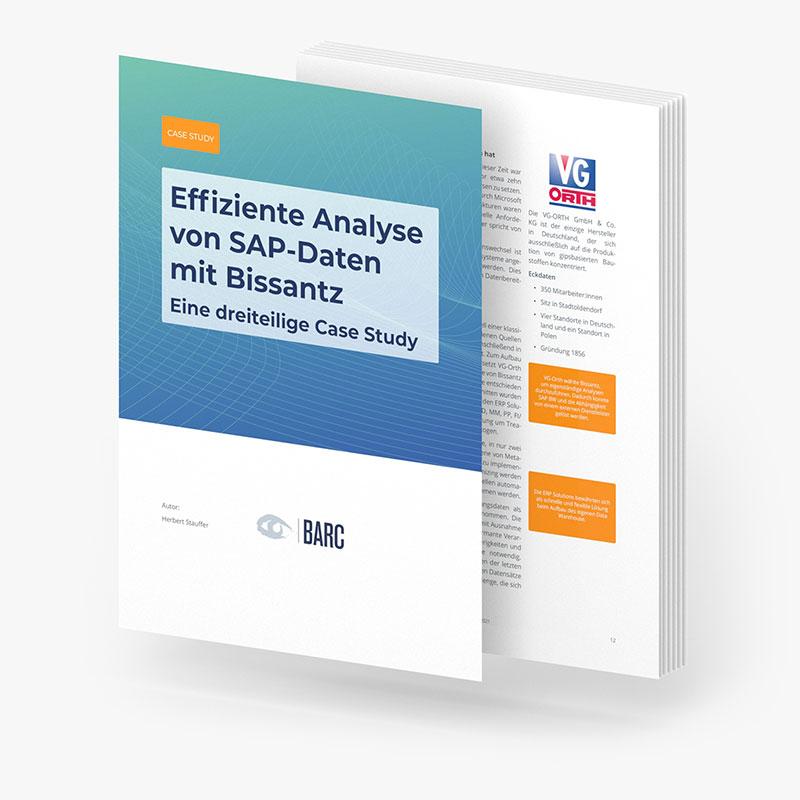 BARC Case Study - SAP-Daten bei VG-Orth
