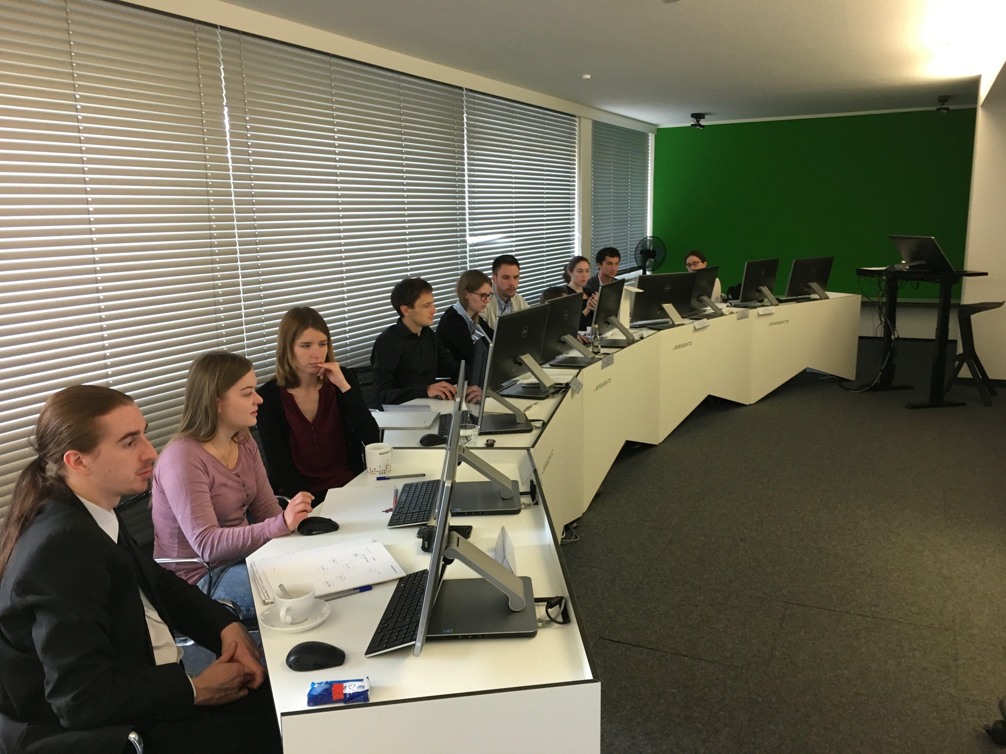 BI Camp 2017 - Die Teilnehmer während des Seminars