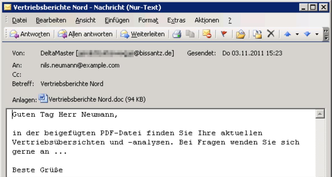 Personalisierte E-Mail