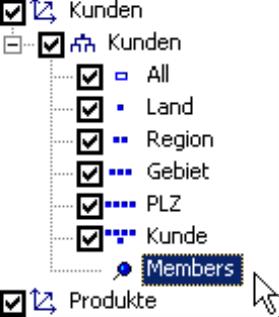 Doppelklick auf den Eintrag Members