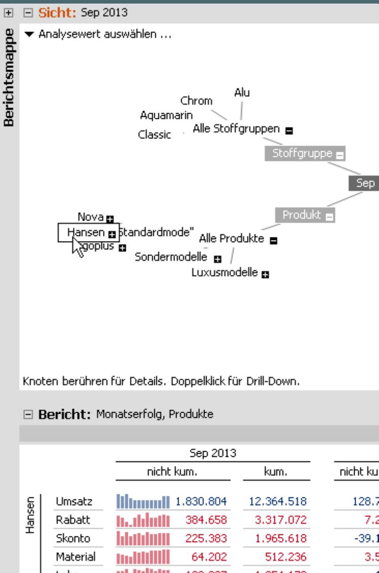 Hyperbrowser und analytische Vorschau
