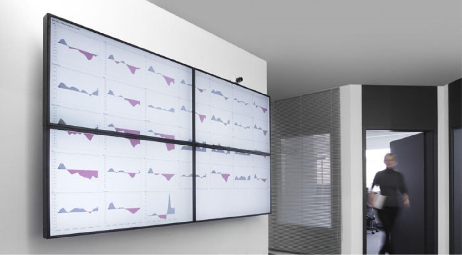 Präsentationen auf Großbildschirmen mit DeltaMaster Gate