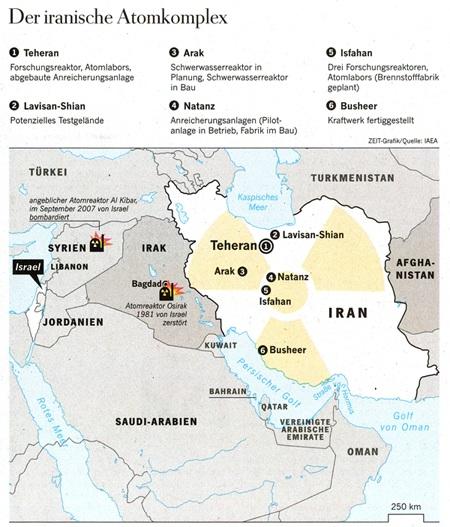 Der iranische Atomkomplex